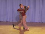 how to dance natural turn in quickstep